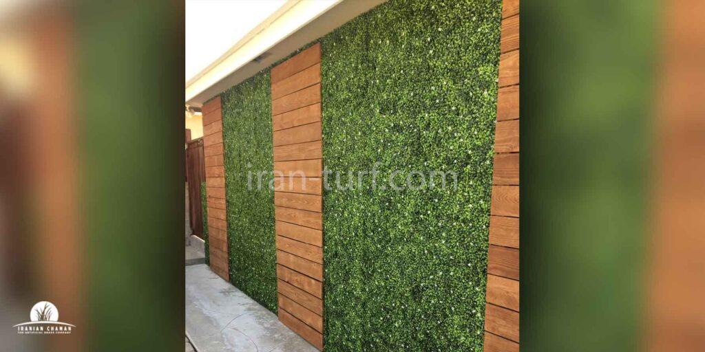 چمن مصنوعی دیواری